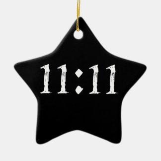 11:11 CERAMIC STAR DECORATION