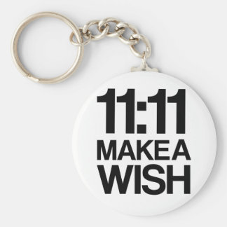 11:11 MAKE A WISH keychain