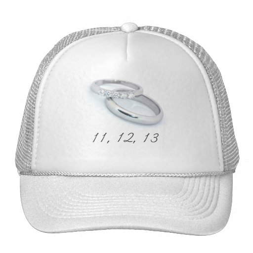 11,12.13 Save the Date Mesh Hat