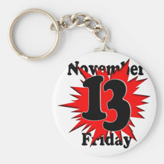 11-13  Friday the 13th Key Chain