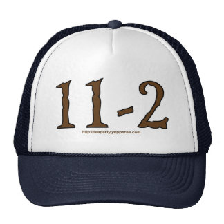 11-2 Cap Trucker Hats