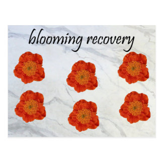 11 Blooming Recovery Postcard