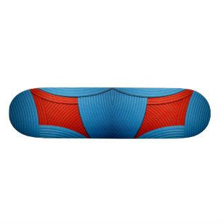 11 Blue & Red Skateboard Skateboard