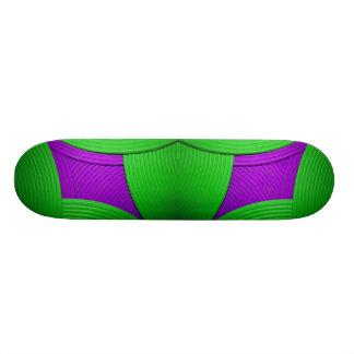 11 Green & Purple Skateboard Custom Skate Board