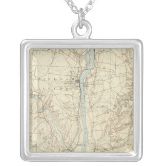 11 Hartford sheet Silver Plated Necklace