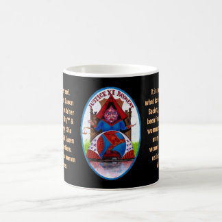 11. Justice - Alice tarot Coffee Mug
