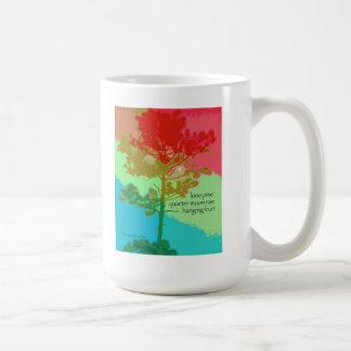 11 Mug - Original Art & Haiku - lone pine