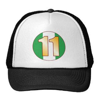 11 NIGERIA Gold Cap