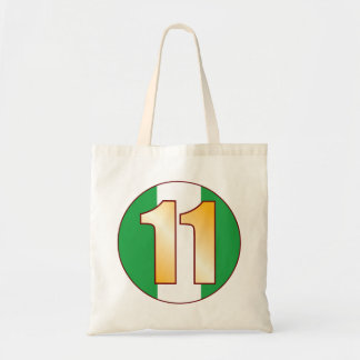 11 NIGERIA Gold Tote Bag