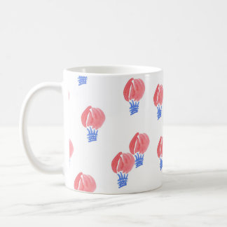 11 oz classic mug with air balloons
