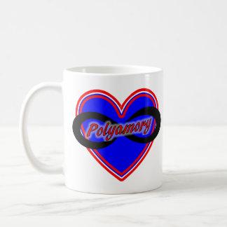 11 oz Classic White Mug with Polyamory Logo Mugs