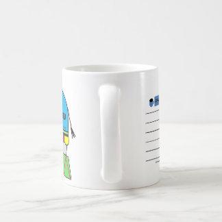 "11 oz coffee/tea cup ""Remember"" elephant"