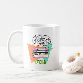 11 oz colorful original artist doh tape coffee mug
