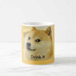11 oz. Doge Meme Coffee Cup Basic White Mug