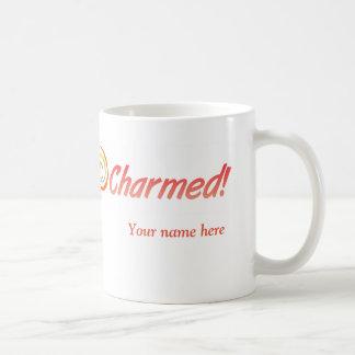 11-oz white mug for left-handers, original design