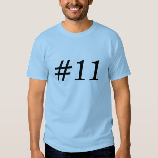 # 11 SHIRTS
