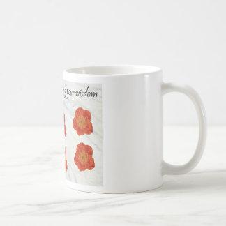 11 Thank You For Sharing Your Wisdom Basic White Mug