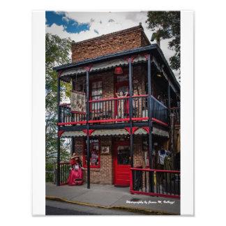 11 x 14 House of Joy Jerome, AZ. Art Photo