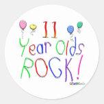 11 Year Olds Rock ! Sticker