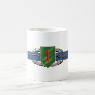 11B 1st Infantry Division Classic White Coffee Mug