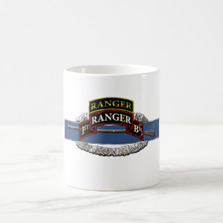 11B 75th Ranger 1st Battalion w/ Tab Coffee Mug