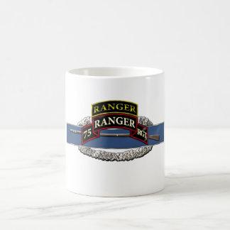 11B 75th Ranger w/ Tab Basic White Mug