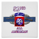 11B 82nd Airborne Division Print