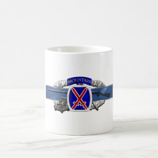 11C 10th Mountain Division Classic White Coffee Mug
