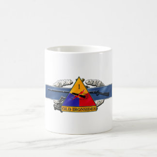 11C 1st Armored Division Coffee Mug