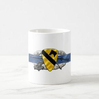 11C 1st Cavalry Division Classic White Coffee Mug
