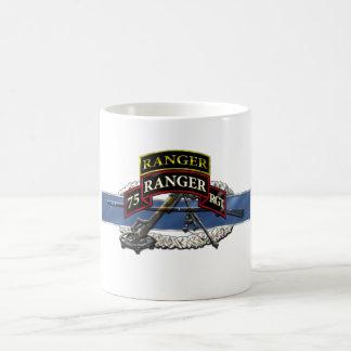11C 75th Ranger w/ Tab Classic White Coffee Mug