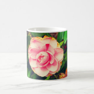 11oz Coffee Mug, Camellia Print Coffee Mug