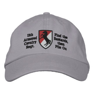 11th A.C.R. Blackhorse Patch Hat Baseball Cap