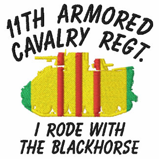 11th ACR ACAV & Crossed Sabers Call-Sign Shirt