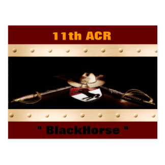 11th ACR BlacHorse Postcard
