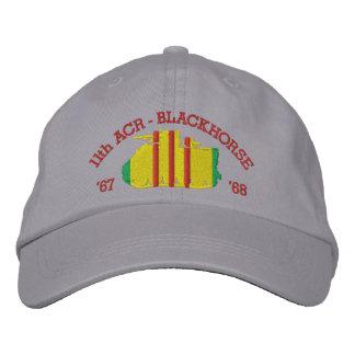 11th ACR Blackhorse M113 ACAV Hat Embroidered Baseball Caps