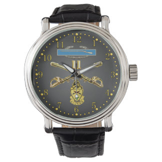11th ACR Crossed Rifles, CIB and Unit Crest Watch