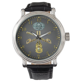 11th ACR Crossed Rifles, CMB and Unit Crest Watch