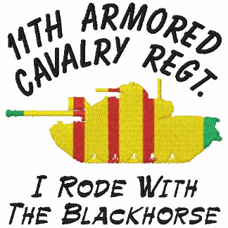 11th ACR M48A3 & Crossed Sabers Call-Sign Shirt