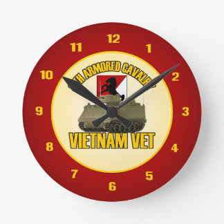11th ACR Vietnam ACAV Round Clock