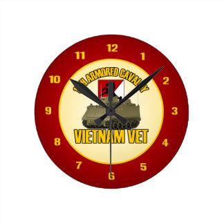 11th ACR Vietnam ACAV Wallclock
