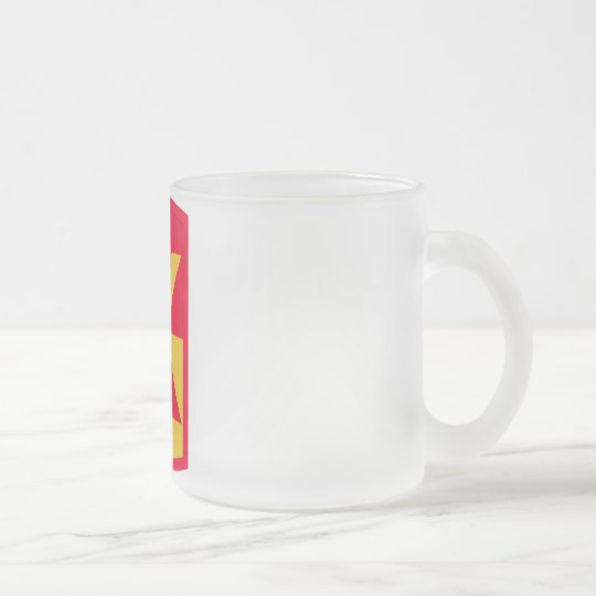11th Air Defence Artillery Frosted Glass Coffee Mug