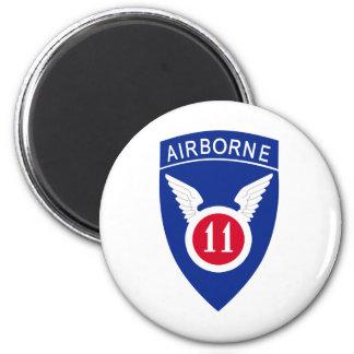 11th Airborne Division 6 Cm Round Magnet