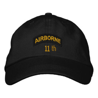 11th Airborne Embroidered Hat