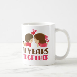 11th Anniversary Gift For Her Coffee Mug