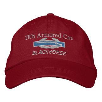 11th Armored Cav Blackhorse CIB Embroidered Hat