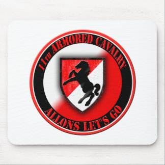 11th Armored Cavalry 001 Mouse Pads