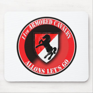 11th Armored Cavalry 002 Mousepad