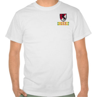 11th Armored Cavalry CH-47 Chinook Pilot Shirt