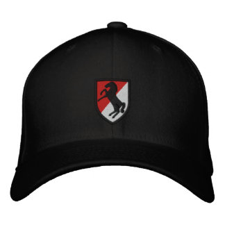 11th Armored Cavalry Embroidered Hats